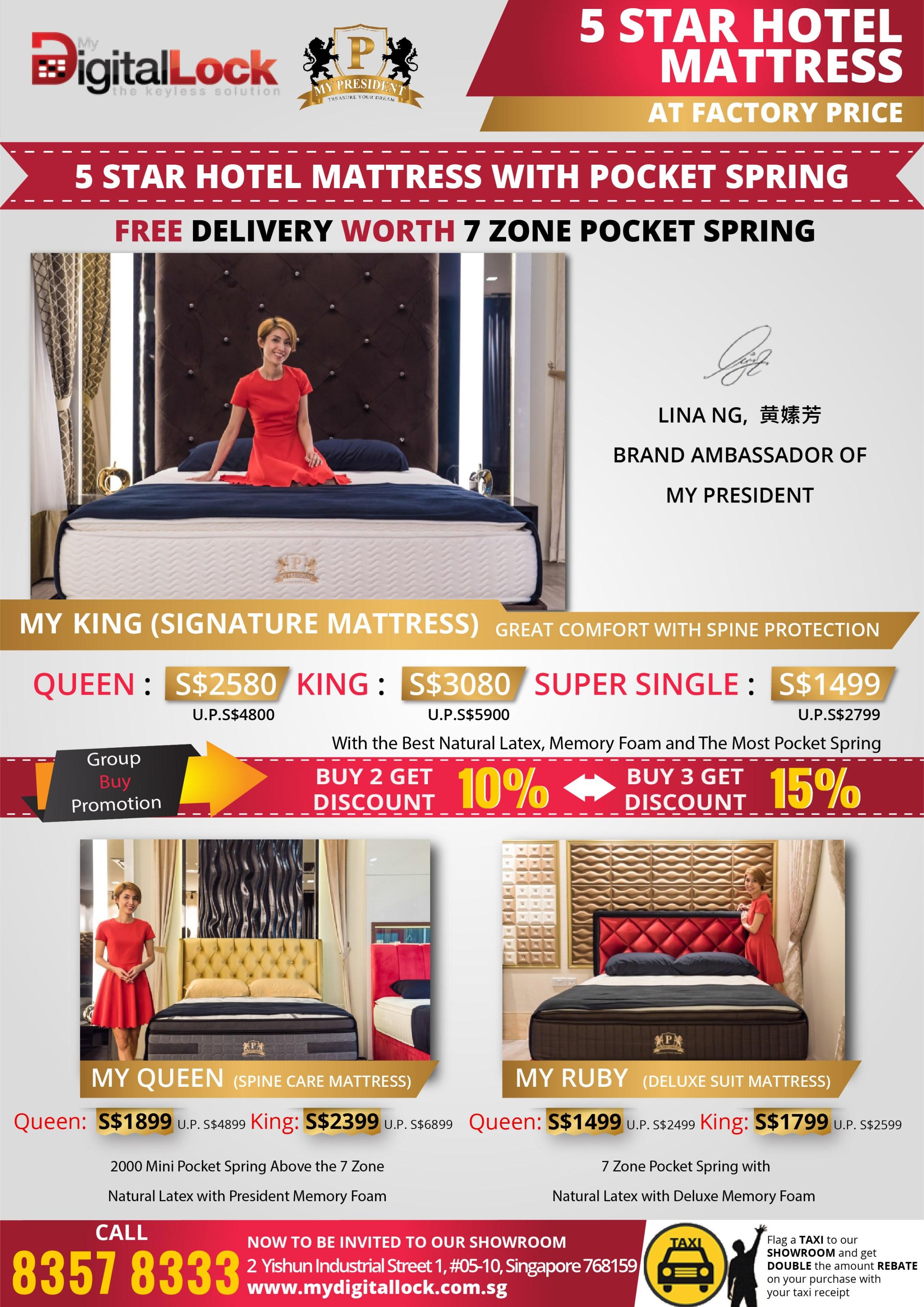 Hotel Pocket Spring Mattress