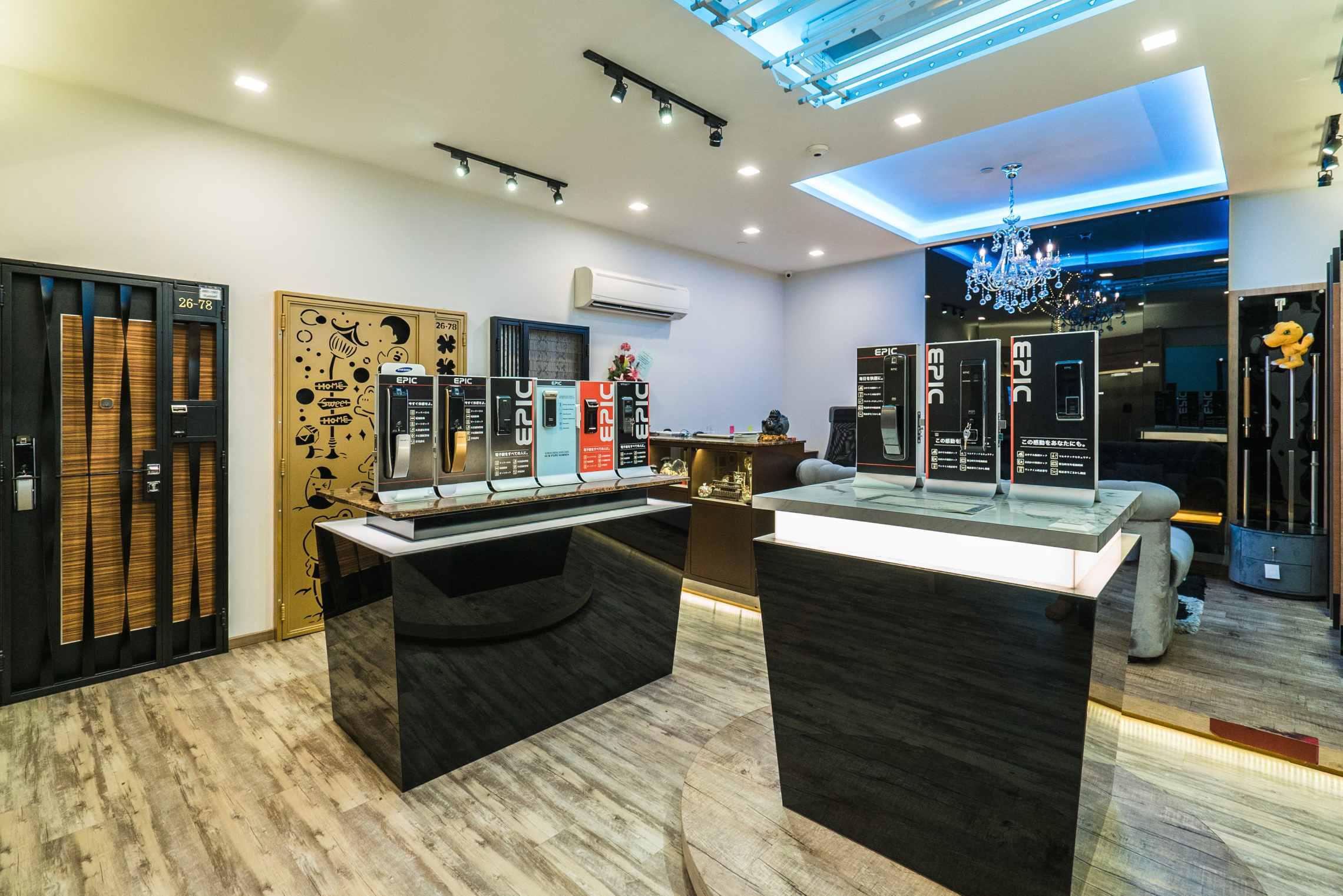 Digital Lock Show Room
