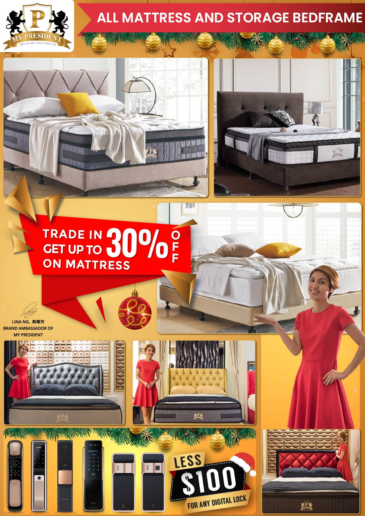 My President Mattress Trade In Mattress Christmas Promotions 2019